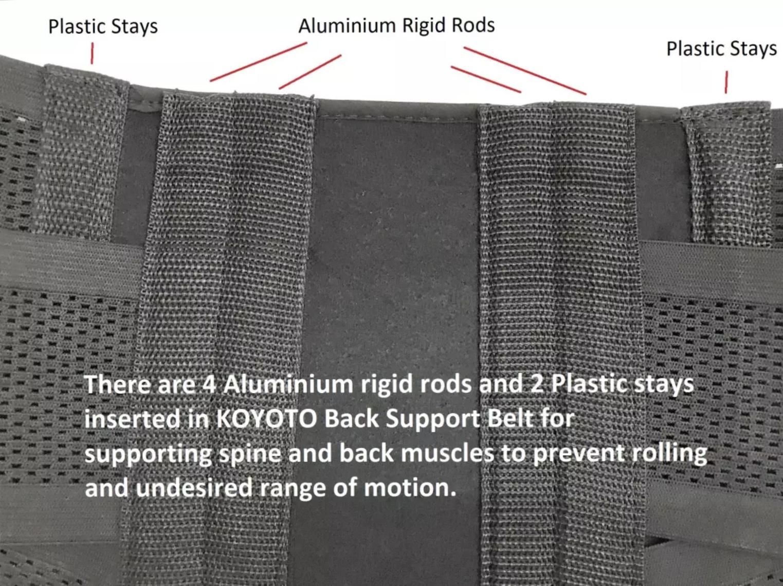 Back Lumbar Support Belt Brace Feature