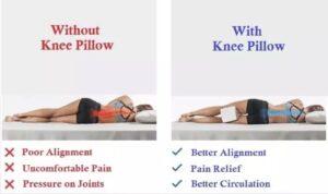 Koyoto Memory Foam Knee Instruction
