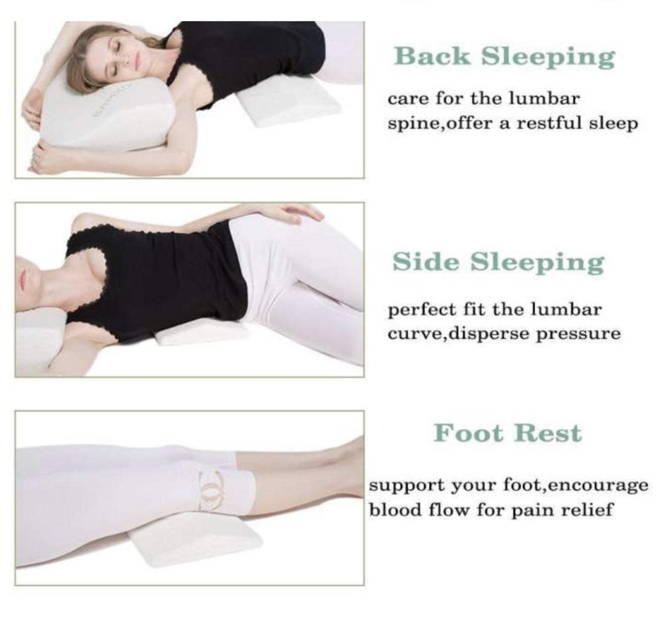 Memory Foam Back For Pregnant Lady