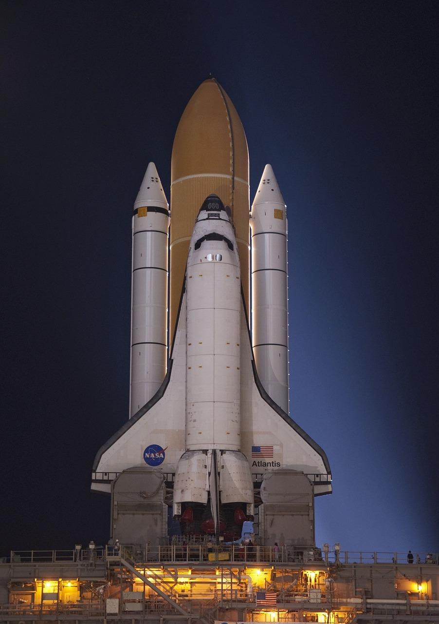 atlantis space shuttle, rollout, launch