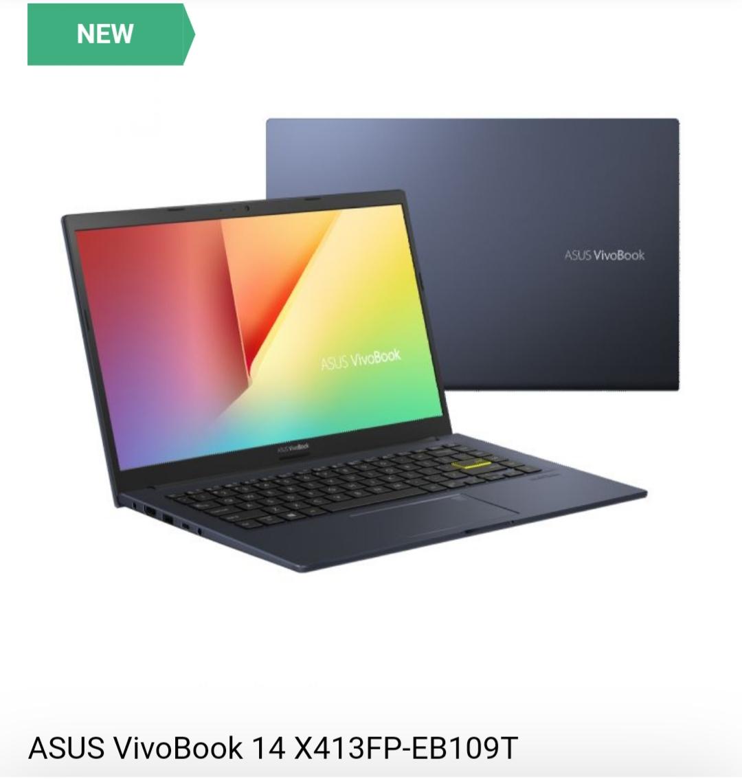 Asus VivoBook 14x413FP Frontview