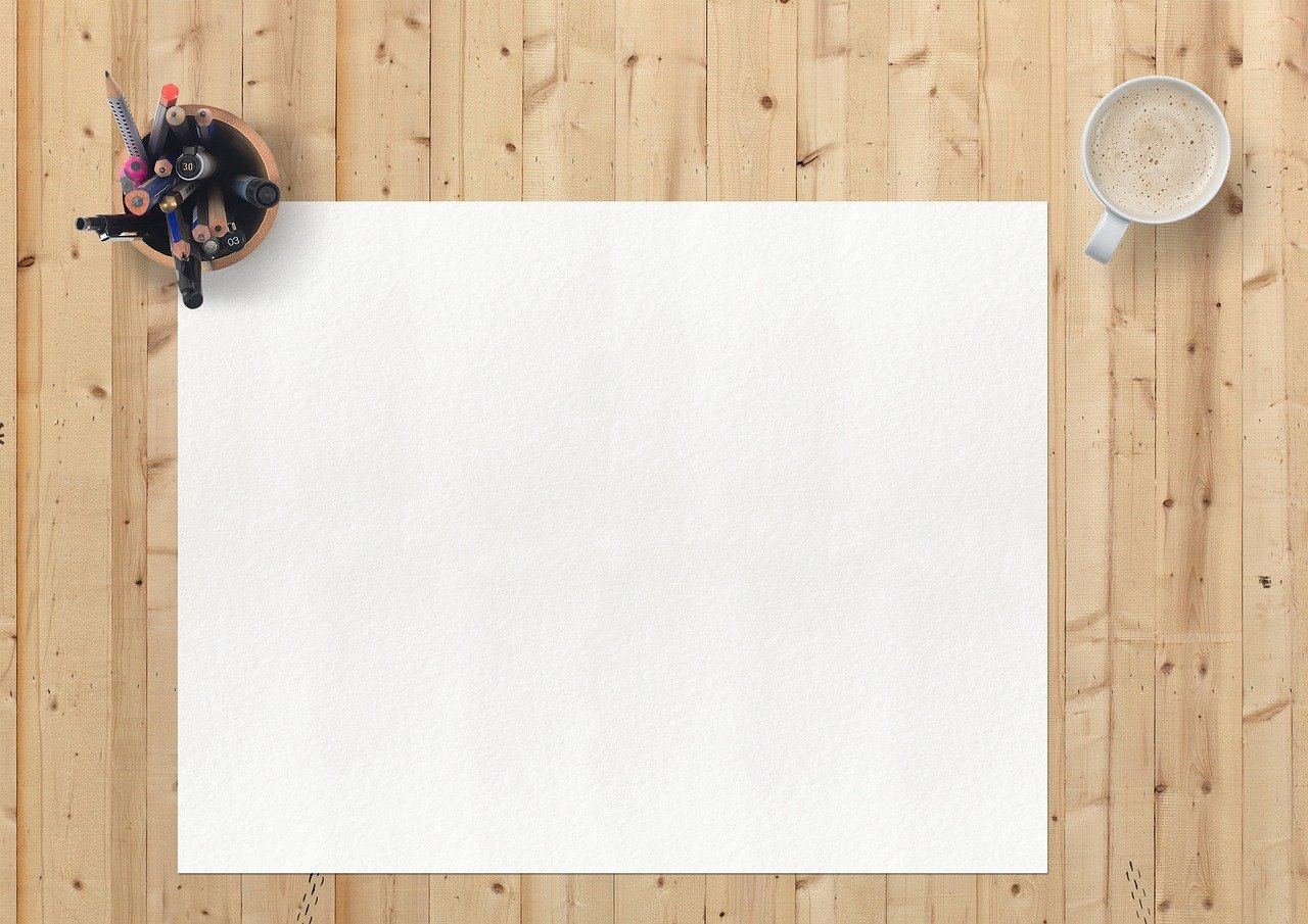 drawing pad, note pad, white background