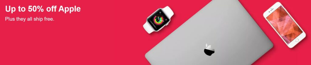 Up To 50% Off Apple