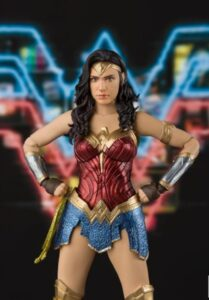 Wonderwoman At Ease
