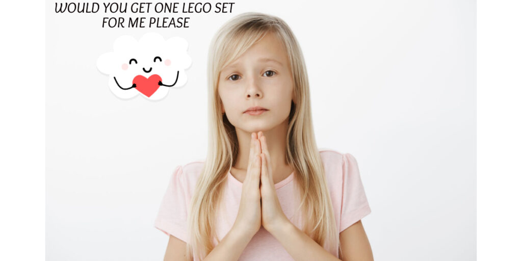 Would You Get A Lego Set For Me Please