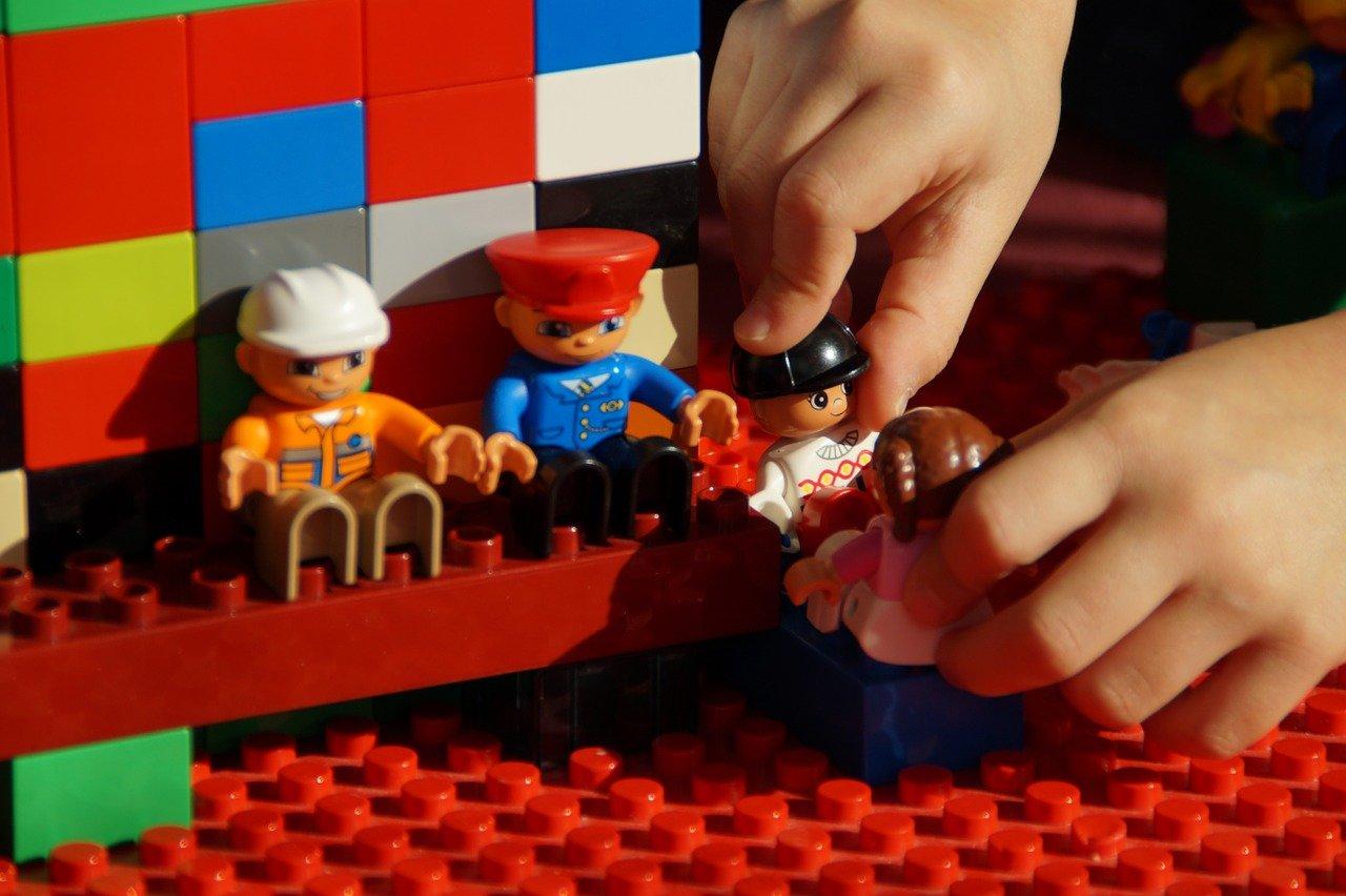 play, lego duplo, build