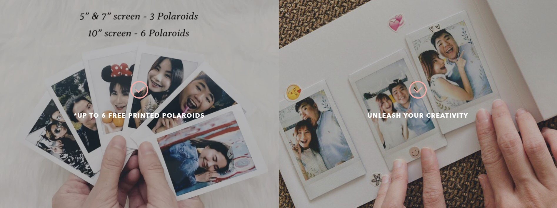 customize photobook at moving moment