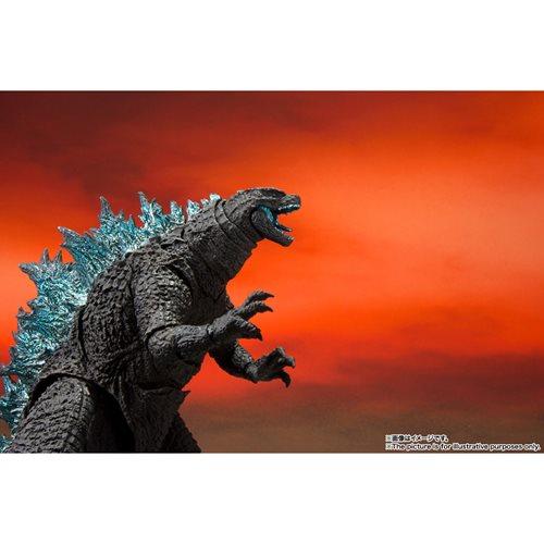 Godzilla ready to fight action figure