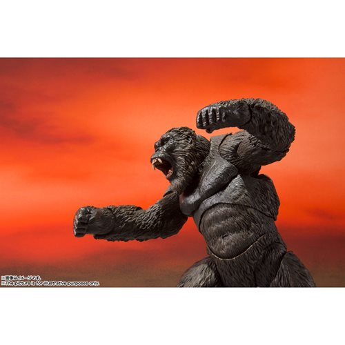 Kong ready to fight action figure